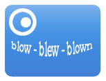 irregular verb: blow-blew-blown